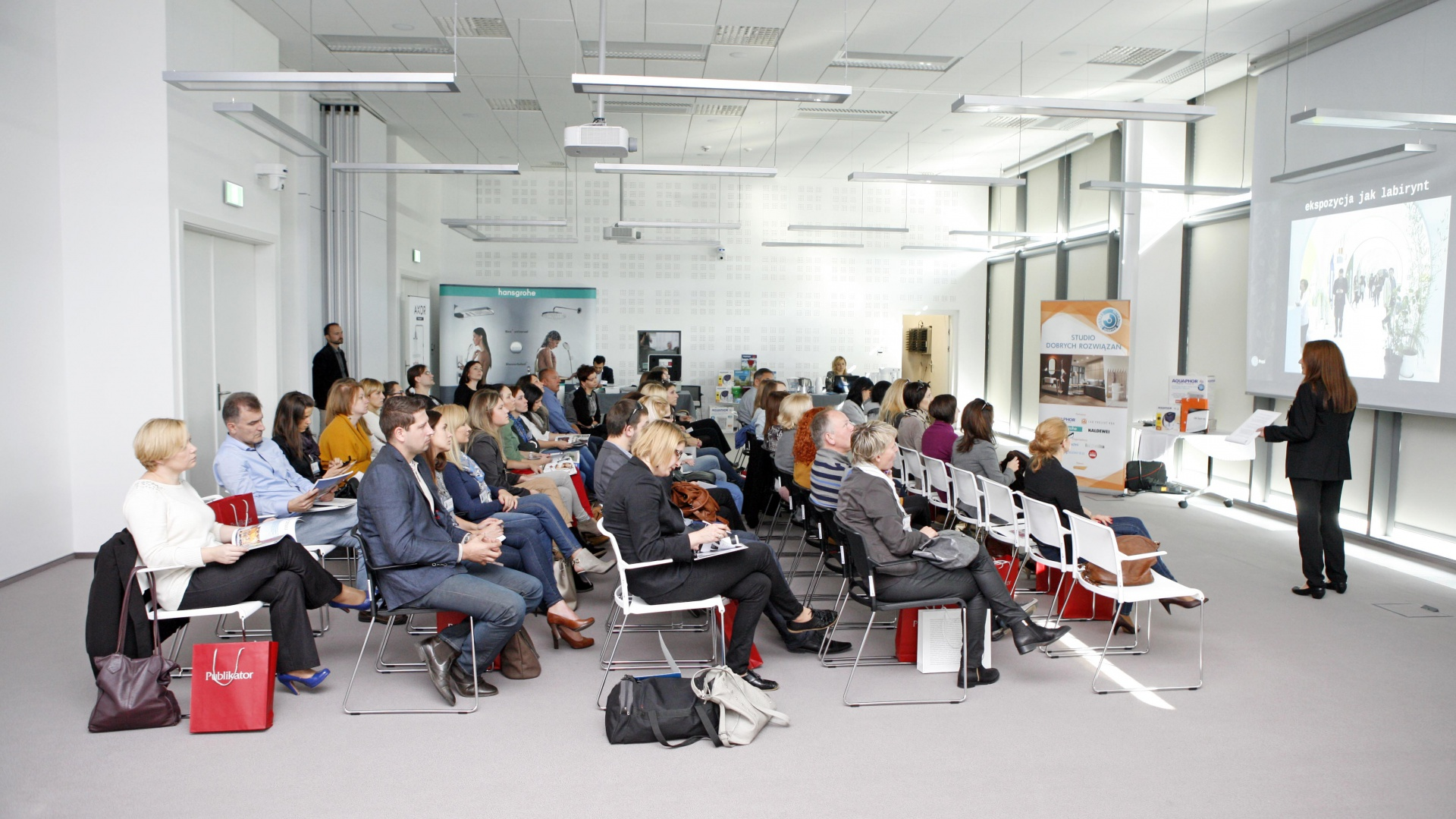 Spotkanie w Białymstoku poprowadziła Anna Raducha-Romanowicz, redaktor magazynu Łazienka.