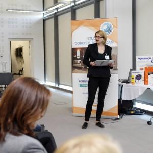 Joanna Żytkiewicz, przedstawiciel firmy Falcon Polska, opowiada o urządzeniach AGD do kuchni: brytyskiej marki Falcon oraz włoskiej Bertazzoni.