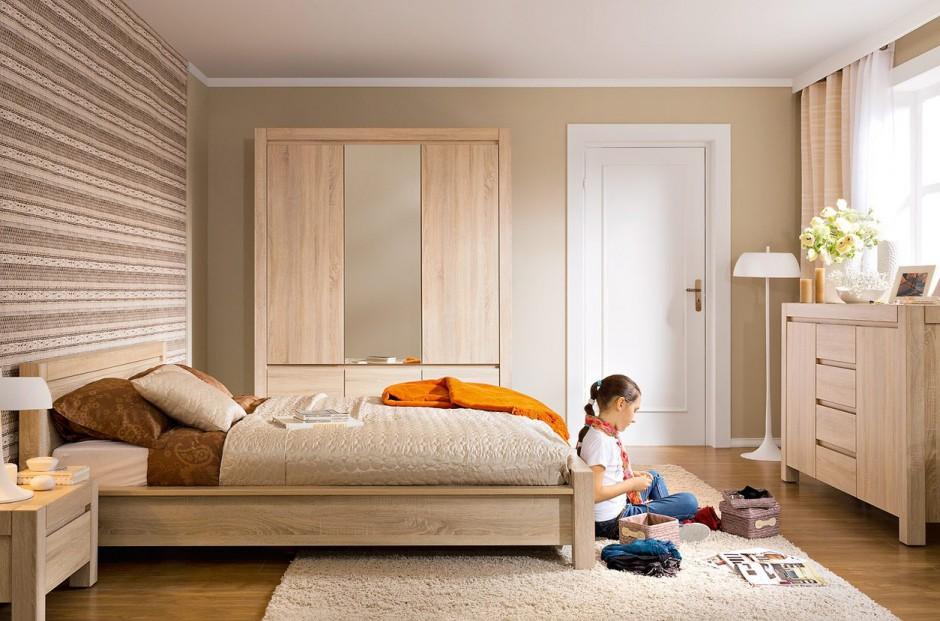 Meble z kolekcji Augustyn...  Meble w kolorze drewna. Najciekawsze propozycje do sypialni