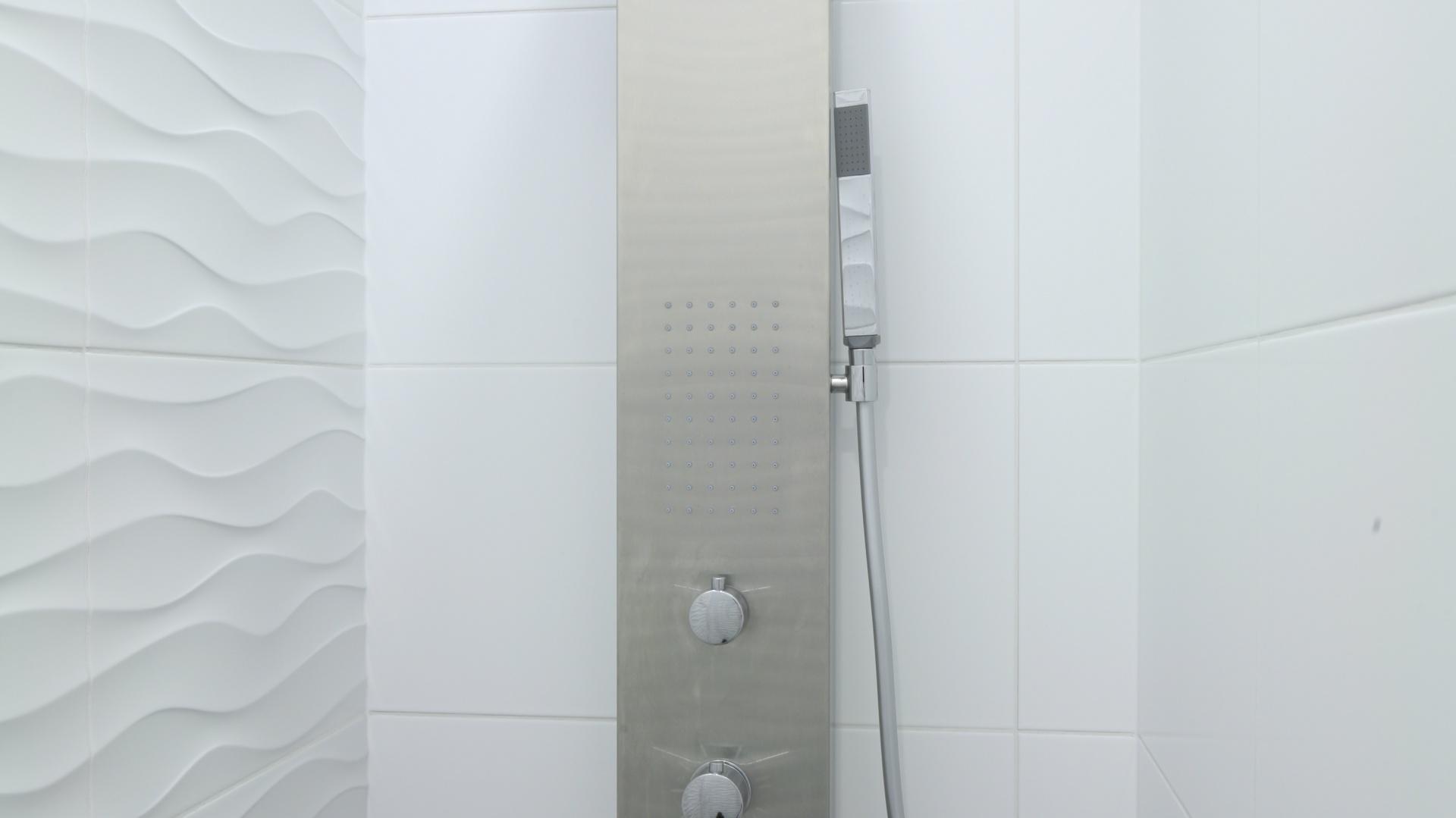 Mała łazienka Z Morskim Motywem