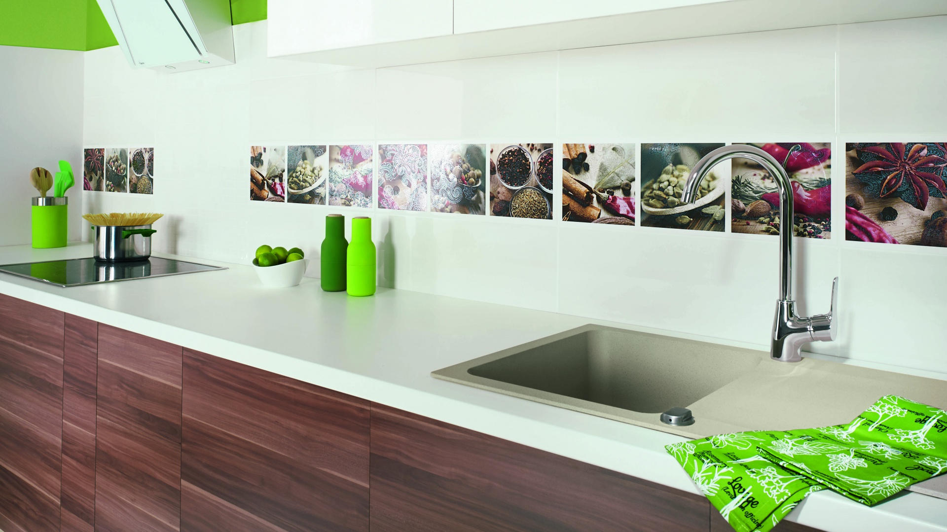 ściany W Kuchni Wybierz Modne I Piękne Płytki