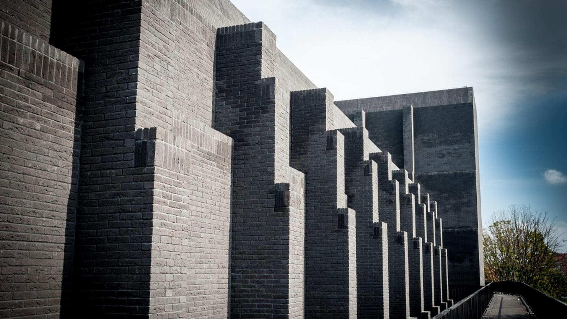 Fasada gdańskiego Teatru Szekspirowskiego. Fot. Dawid Linkowski