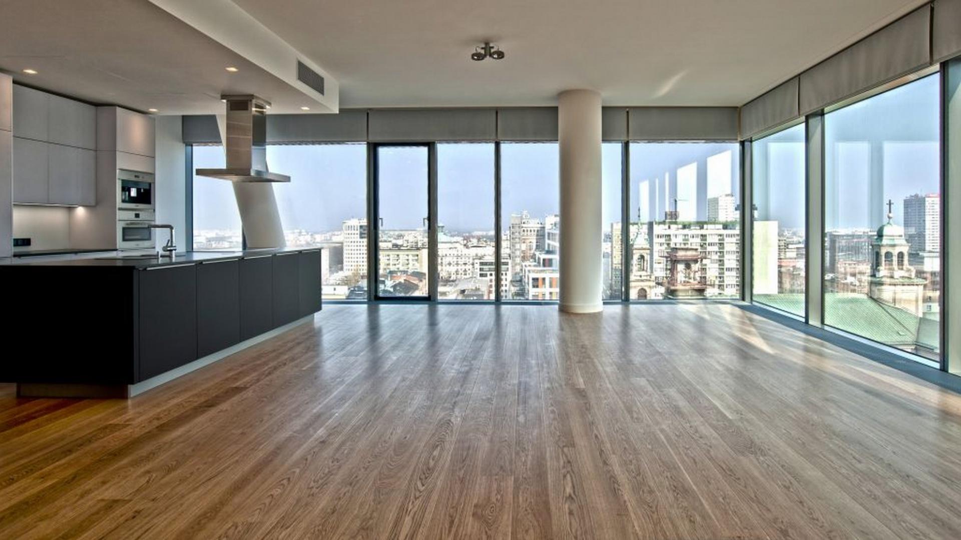 Budynek mieści 236 apartamentów, którego wnętrza pokryto farbami Sikkens. Fot. Sikkens.jpg