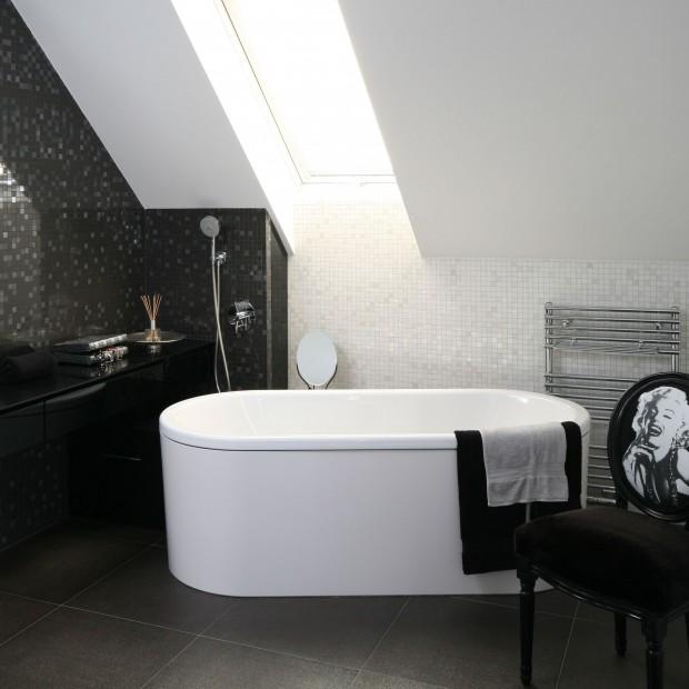 Łazienka na poddaszu: piękne wnętrza z polskich domów
