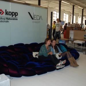 Na festiwalu pojawiła się także także marka Veda Concept, która dopiero zaczyna swoje podboje na polskim rynku. Fot. Marta Ustymowicz.