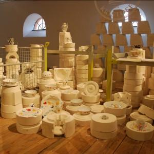 Czołowy producent Porcelany Kristoff w tym roku nie tylko przedstawił swoje produkty, ale też wyprodukował statuetki wręczane zwycięzcom plebiscytu Must Have. Fot. Marta Ustymowicz.