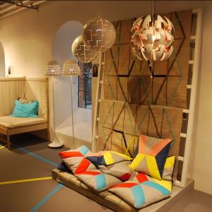 Podczas festiwalu można było zobaczyć pełną kolekcję IKEA PS, zaprojektowaną przez światowych designerów dla marki IKEA. Fot. Marta Ustymowicz.