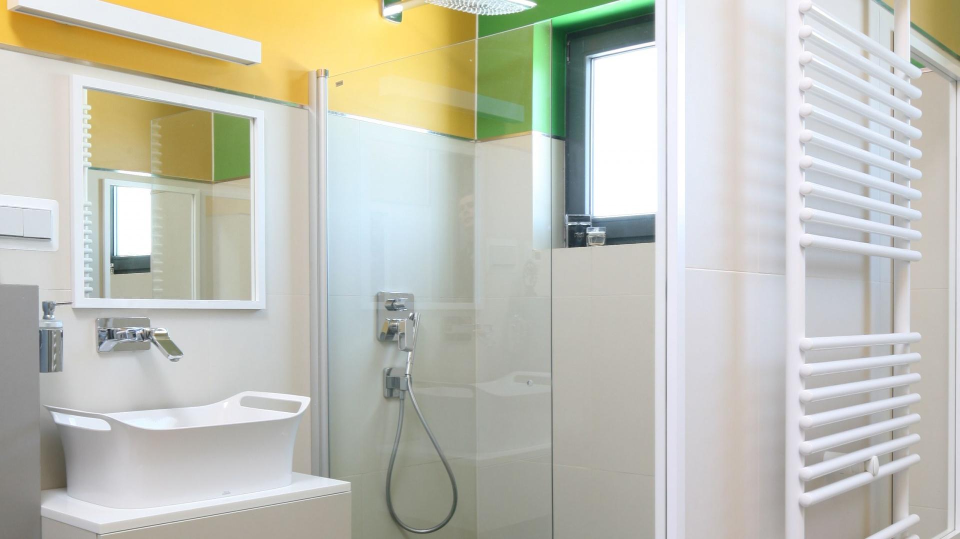 łazienka Dla Rodziny Kolorowe Wnętrze Z Pomysłem