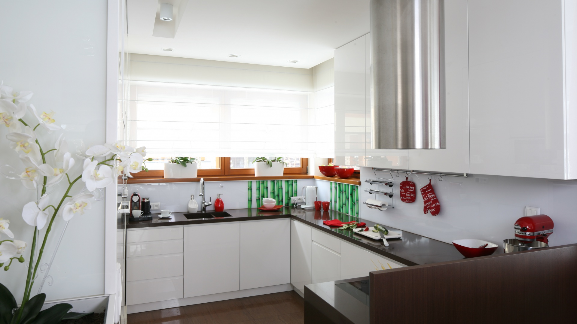 ściana W Kuchni Co Nad Blatem Pomysły Architektów