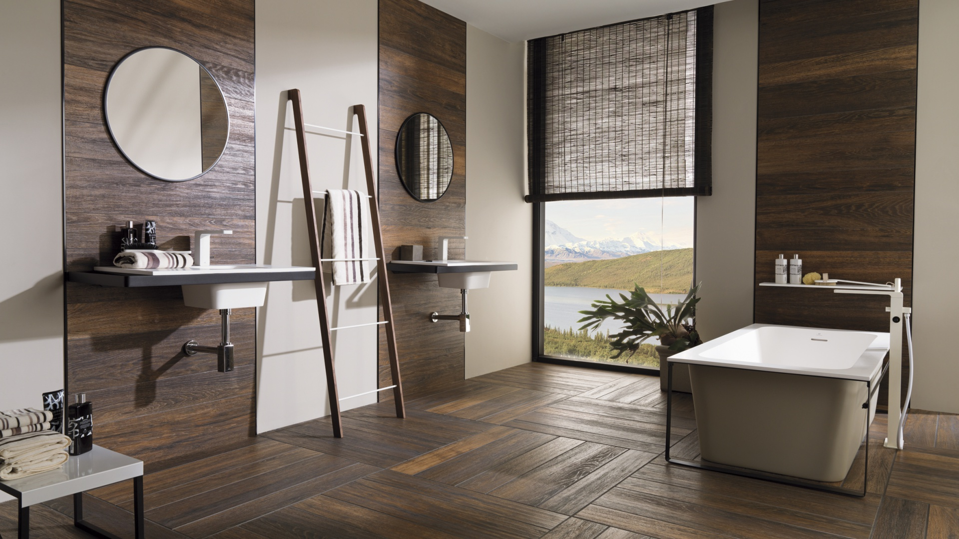 jak naturalny parkiet p ytki ceramiczne jak drewno 15 kolekcji do azienki. Black Bedroom Furniture Sets. Home Design Ideas