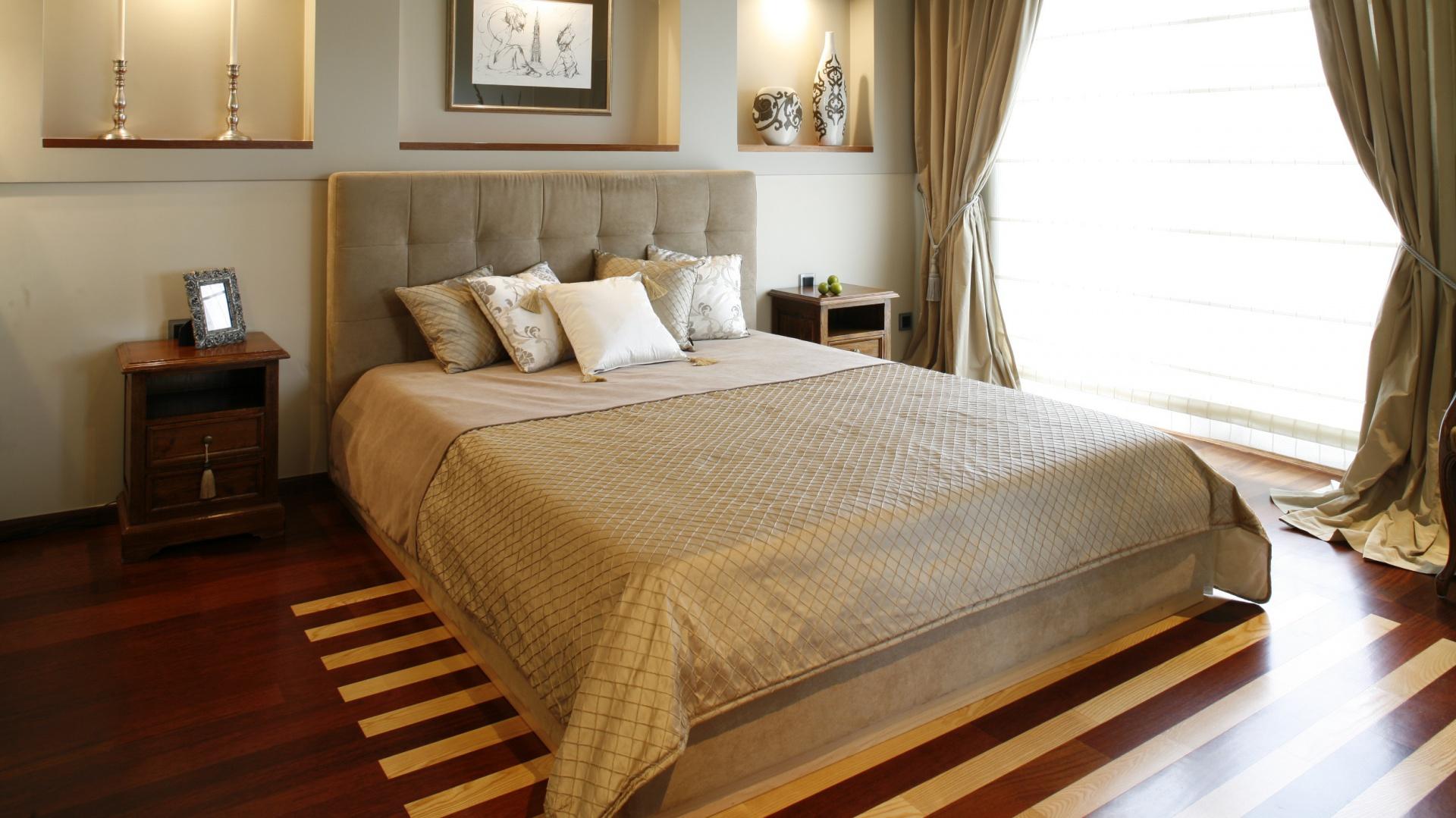 Firany sypialnia