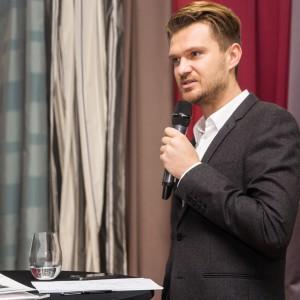 Konferencja prasowa firmy Fargotex Group, Warszawa 8 października 2014. Fot. Fargotex.