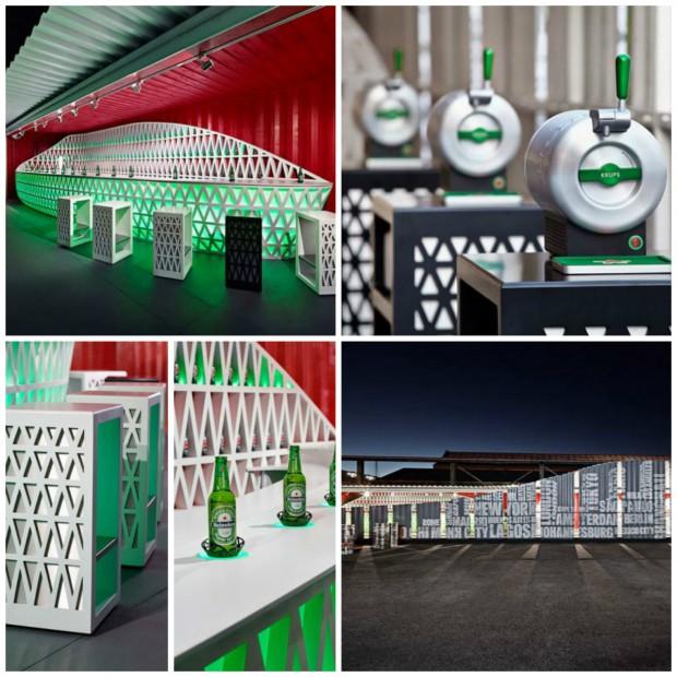 DuPont Corian rozpoczął współpracę z Heinekenem