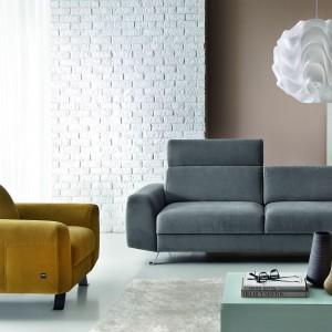 Sofa oraz fotel z kolekcji Pi marki Etap Sofa. Fot. Etap Sofa.