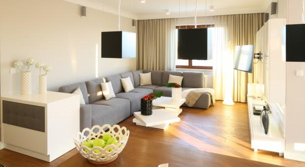 Gdyński apartament w bieli