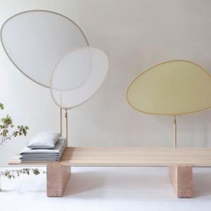 Prosta, minimalistyczna forma wykonana z naturalnych materiałów. Proj. Anna Rosinke, Maciej Chmara. Fot. Chmara.rosinke studio.