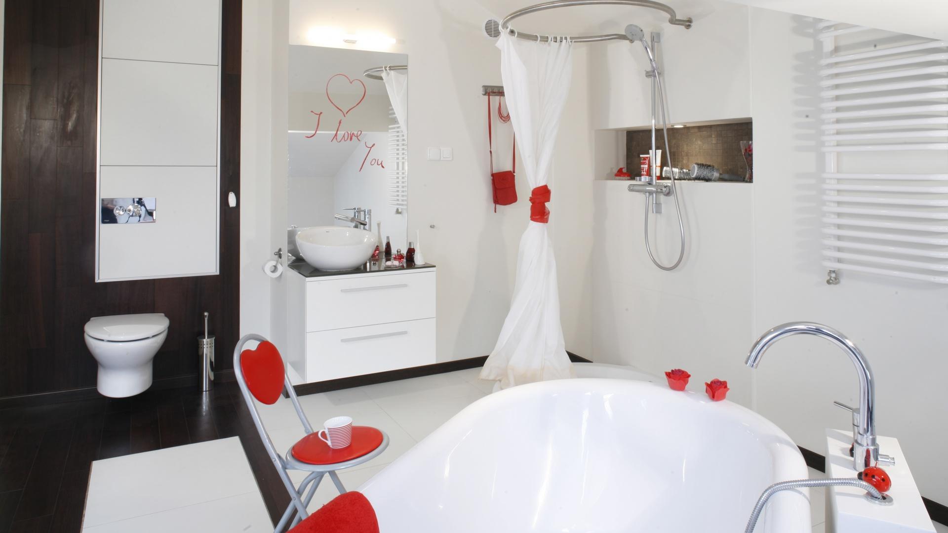 Biała łazienka Najpiękniejsze Wnętrza Z Polskich Domów