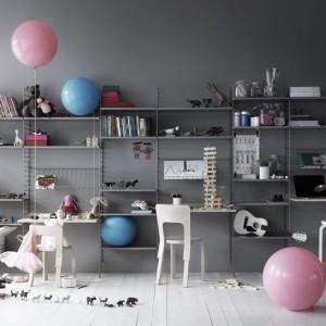 System String dobrze sprawdzi się także w pokoju dziecięcym. Fot. String.