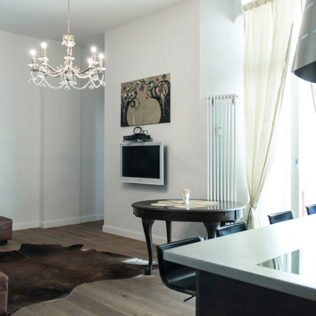 Wypoczynek w stylu glamour. Zobacz elegancki apartament