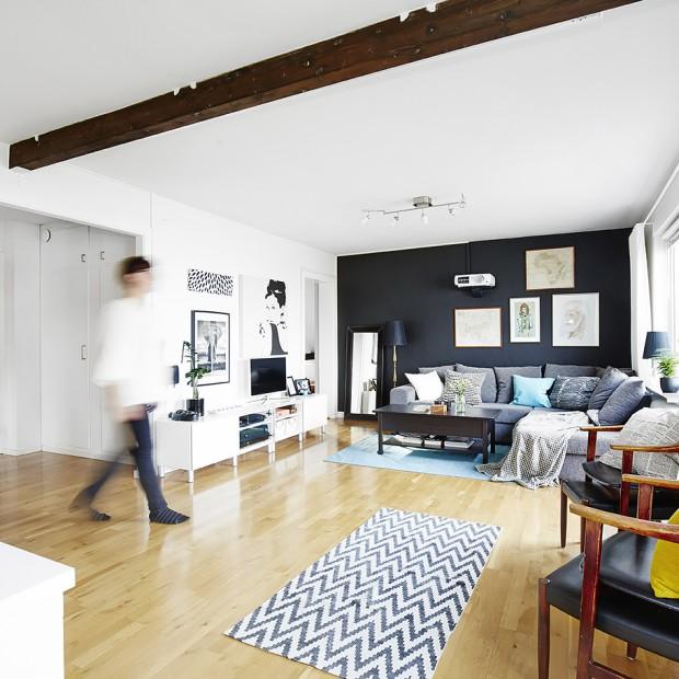 Piękne wnętrze - tak warto łączyć styl skandynawski z klasyką