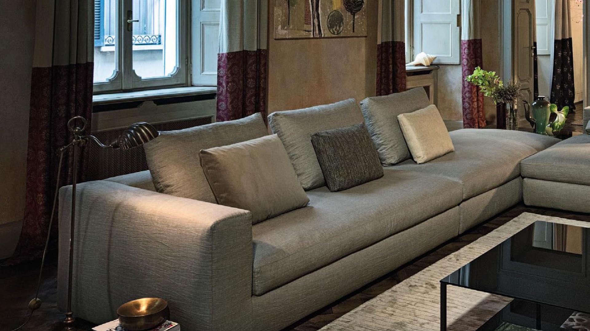 Sofa W Salonie Uniwersalny Mebel Na Lata