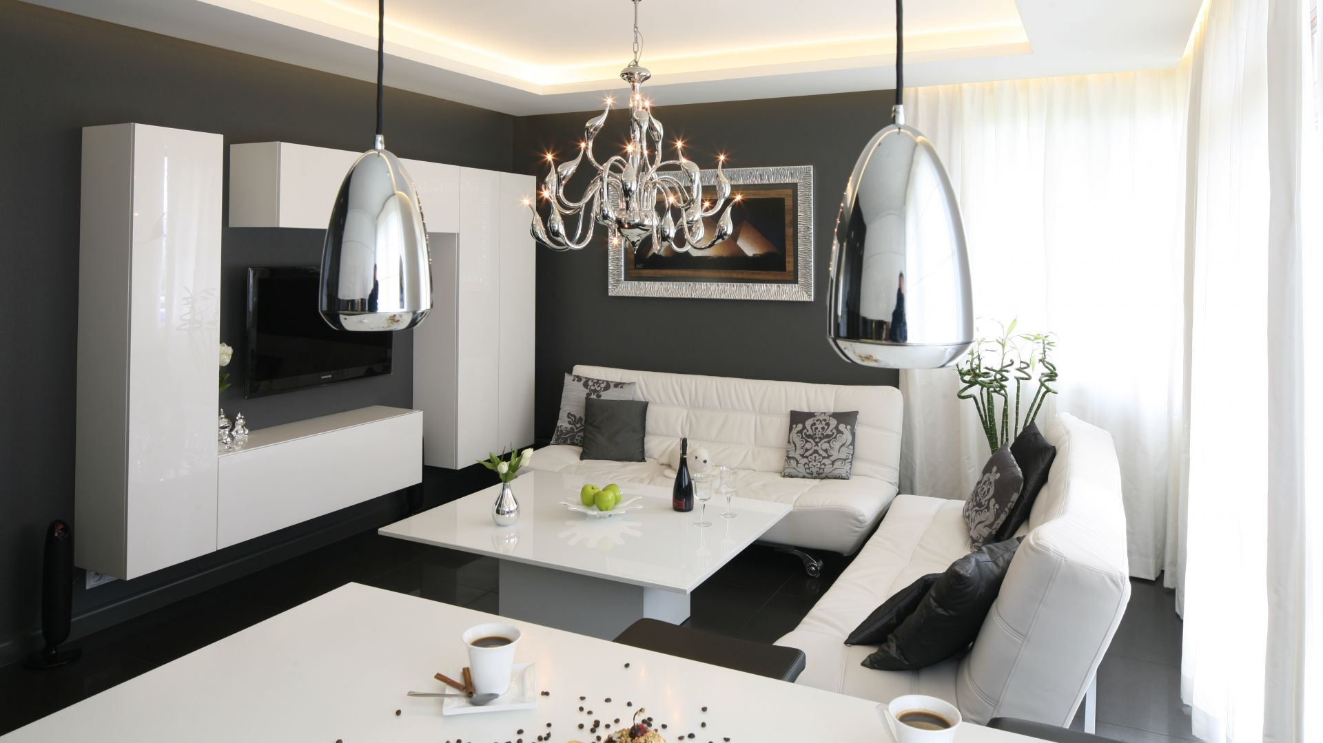 Salon W Stylu Glamour 20 Pomyslow Polskich Projektantow