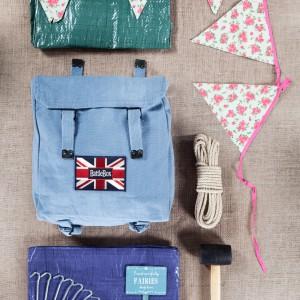 Kto powiedział, że przygodowy plecak jest tylko dla chłopców. Firma Battle Box przygotowała także zestaw dedykowany dziewczynkom. Fot. Battle Box.