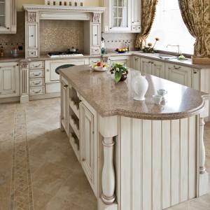 Kolory ziemi są wprost idealne do kuchni w stylu rustykalnym czy klasycznym. Podkreślają piękno oraz przytulny charakter aranżacji. Fot. Demirbag.