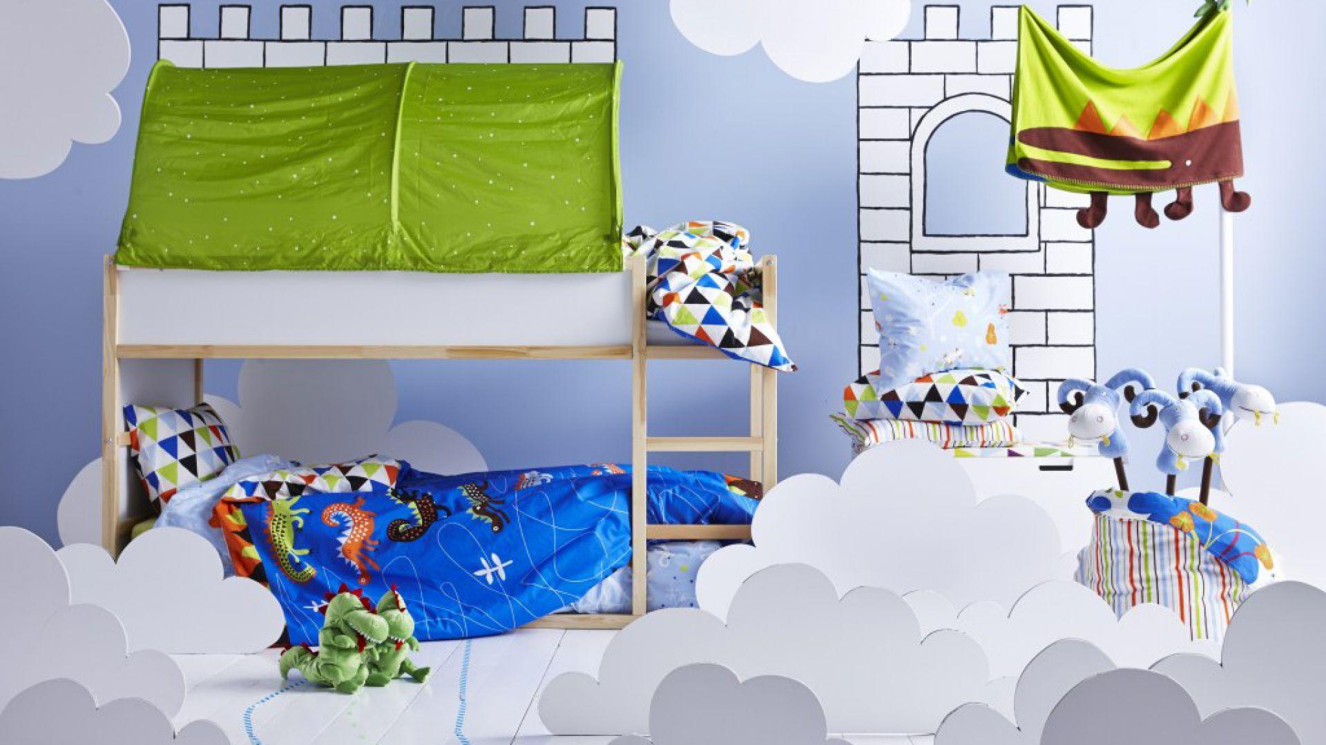 Piętrowe łóżko Praktyczny Mebel Dla Rodzeństwa