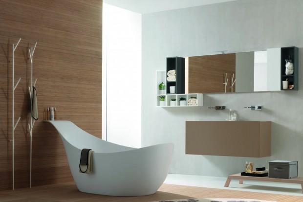 Wanna, chociaż to niezbędny element wyposażenie większości łazienek, może być największa ozdobą wnętrza. Zwłaszcza, jeżeli wybierzemy model wolno stojący, który zajmie centralne miejsce w łazience.