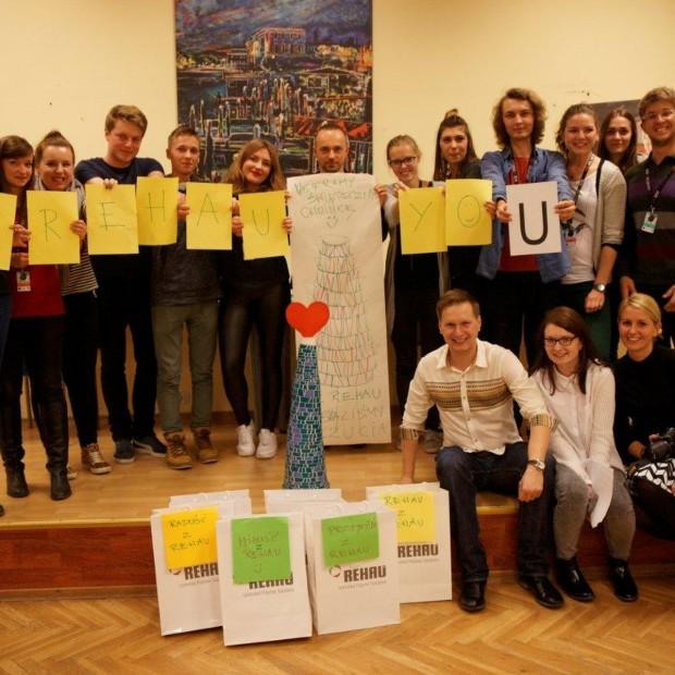 Rehau i młodzi architekci na OSSA 2014