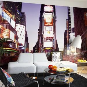 Fototapeta z motywem Time Square prosto z Nowego Jorku. Fot. Mr Perswall.