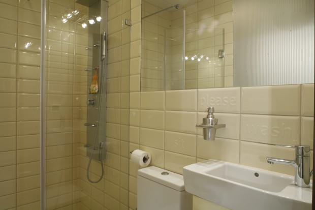 Bardzo mała łazienka: dla gości i domowników