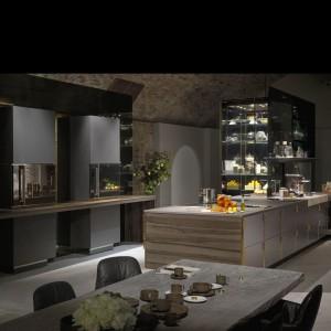 Przy projektowaniu tej linii korzystano z  doświadczeń w pracy z szefami kuchni wyróżnionymi gwiazdkami Michelin.  Fot. Poggenpohl.