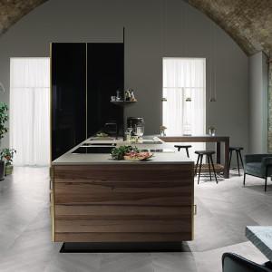 Luksusowe i funkcjonalne wnętrze zadowoli nawet najbardziej wymagających użytkowników. Fot. Poggenpohl.