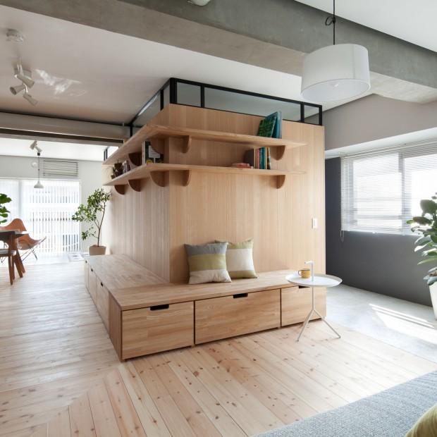 Nowoczesne i funkcjonalne: mieszkanie małżeństwa z Japonii