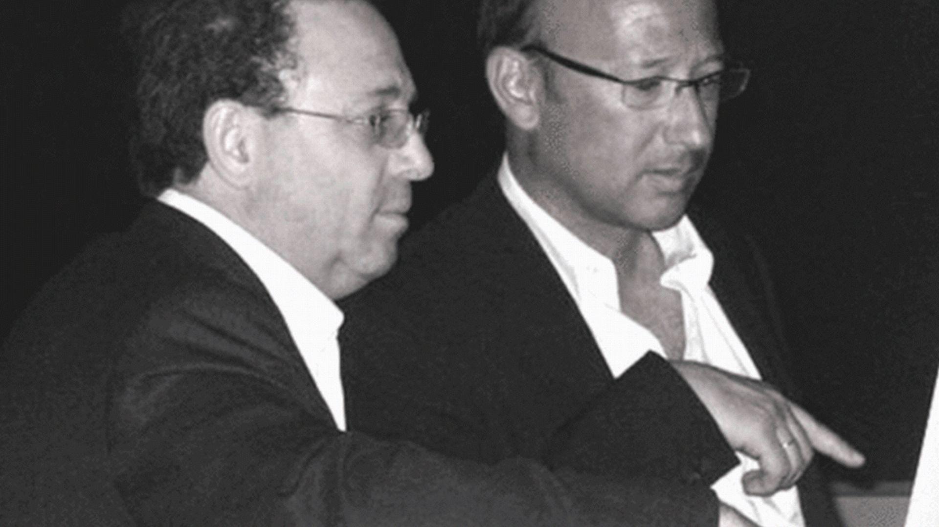 Po lewej stronie widzimy Asafa Gottesmana, partner biznesowy i architekt Amina Szmelcmana (po prawej). Fot. Gottesman-Szmelcman