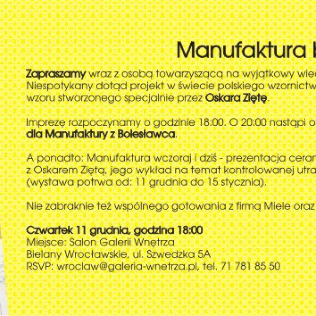 Architect Day Zięta dla Bolesławca - Prapremiera Wzoru