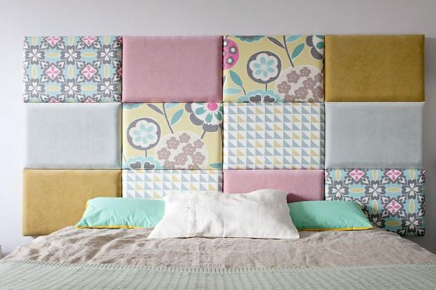 Dekoracyjny zagłówek: pomysł na szybką metamorfozę sypialni