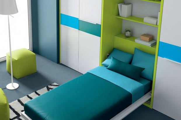 Łóżko w szafie. Praktyczny mebel do małego pokoju