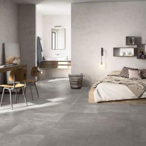 Wzór płytek z kolekcji Oficina marki Imola Ceramica jest połączeniem terakoty i cementu, co w efekcie nadaje łazience nowoczesny a jednocześnie przytulny wygląd. Fot. Imola Ceramica.