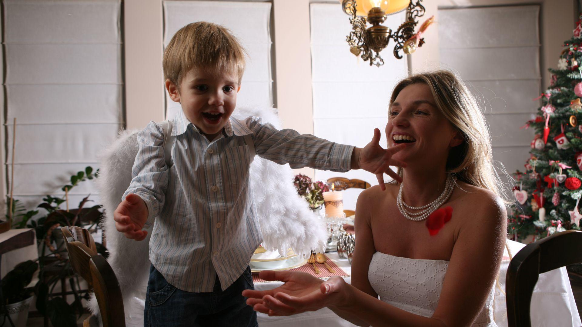 W domu Pani Edyty Święta to czas radości, miłości spędzony w rodzinnym gronie. Fot. Bartosz Jarosz.
