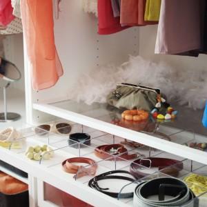 Paski, okulary, biżuteria też powinny mieć swoje miejsce w szafie. Warto wygospodarować im oddzielne miejsce. Fot. IKEA.