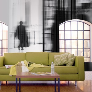Dekoracja z kolekcji Glance marki JVD wprowadzi do wnętrza nutę tajemniczości. Znakomicie pasuje do salonu w stylu loft. Fot. JVD.