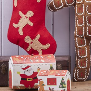 W dekoracyjne opakowania możemy zapakować świąteczne wypieki. Tak pięknie zapakowane przysmaki mogą stać się miłym upominkiem dla najbliższych. Fot. The Contemporary Home.