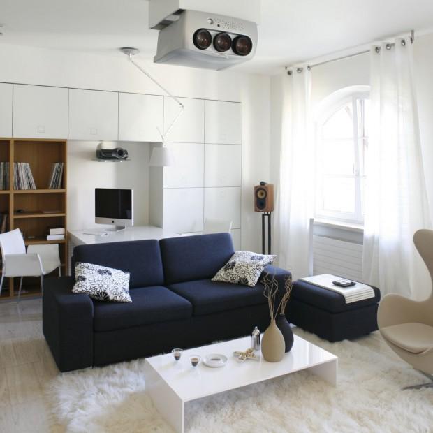 Białe ściany: eleganckie, modne, nowoczesne