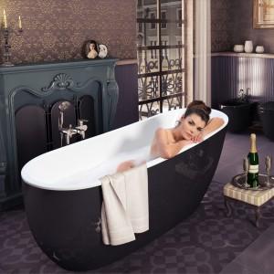 Wanna Comfort New firmy Excellent gwarantuje prawdziwy relaks. To synonim elegancji i komfortu, idealna także do łazienek w stylu retro. Fot. Excellent.