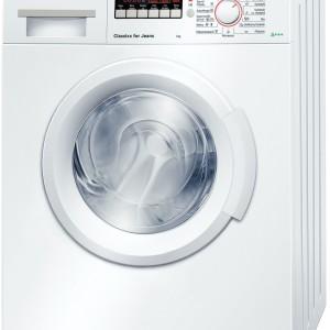 Pralka Bosch o obniżonym poziomie hałasu nie zbudzi nikogo ze snu nawet w przypadku pracy w nocy, a funkcja TimePerfect pozwoli zrealizować pełny cykl prania w krótszym czasie. Fot. Bosch.