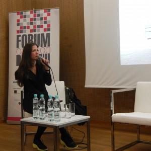 Pod lupę poszła też kuchnia. Justyna Smolec dyskutowała o jej przyszłości z...