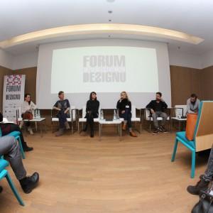 """Równolegle odbywał się panel dyskusyjny """"Design a przeszłość. Jak nawiązać inteligentny dialog z tradycją i jak dzięki niej osiągnąć sukces we współczesnym świecie."""""""